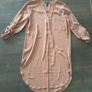 Burnt Orange/brown T-shirt dress!